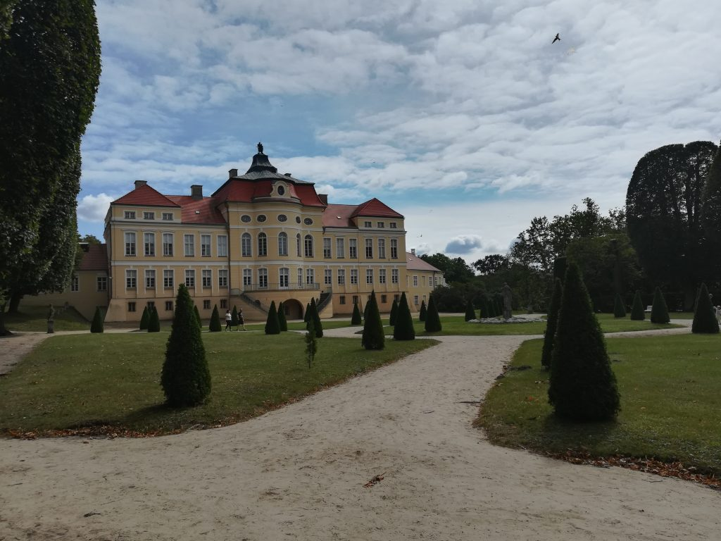 Pałac Raczyńskich w Rogalinie od strony ogrodu